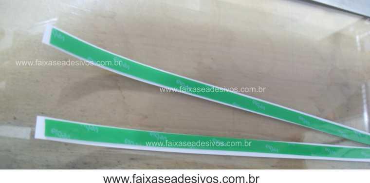 Fita Dupla Face de Silicone - Super resistente - o metro  - FAC Signs Impressão Digital