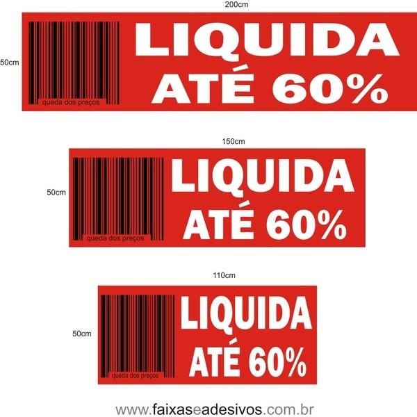 LIQUIDAÇÃO COD BARRAS ADESIVO - AD3LIQ01  - FAC Signs Impressão Digital