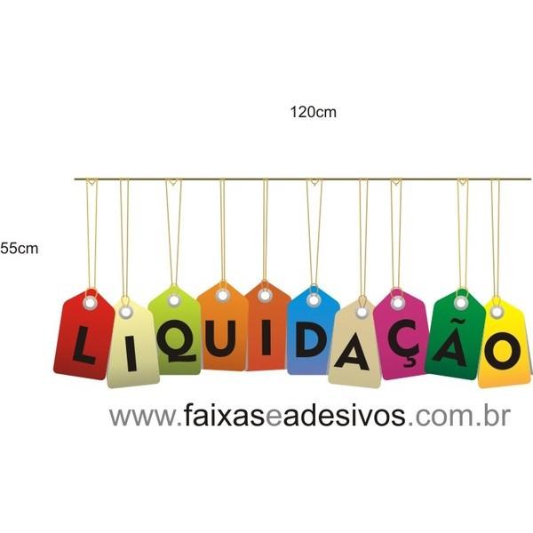 Adesivos TAG Liquidação - TAG3LIQ01  - Fac Signs