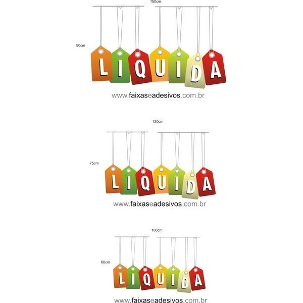 LIQUIDA TAG adesivo - TAG3LIQ02  - FAC Signs Impressão Digital