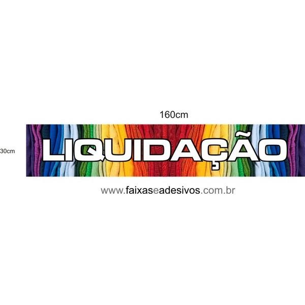 Liquidação Cores adesivo - AD3LIQ06  - FAC Signs Impressão Digital