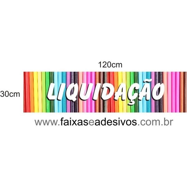Liquidação lápis colorido - AD3LIQ06  - FAC Signs Impressão Digital
