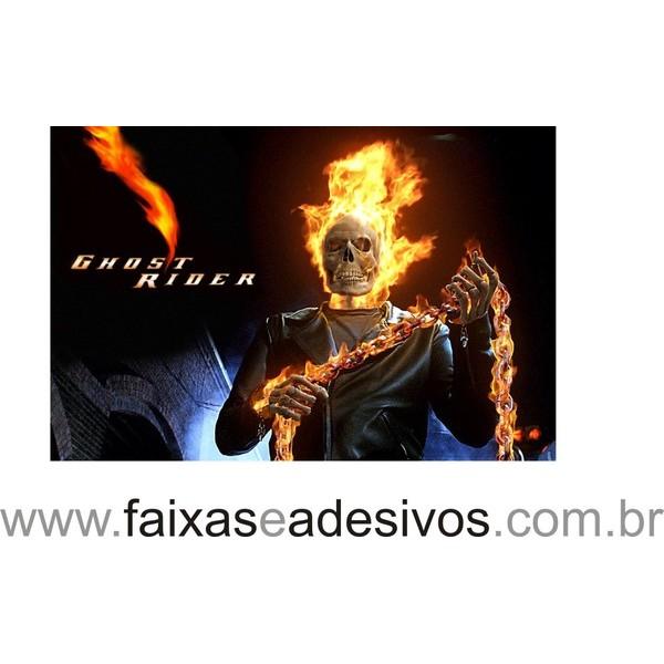 Painel de Mesa Motoqueiro Fantasma 2,00 x 1,50  - Fac Signs