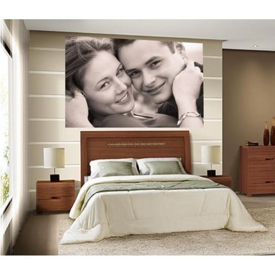Adesivo Dormitório com Foto 1,00 x 0,70  - FAC Signs Impressão Digital