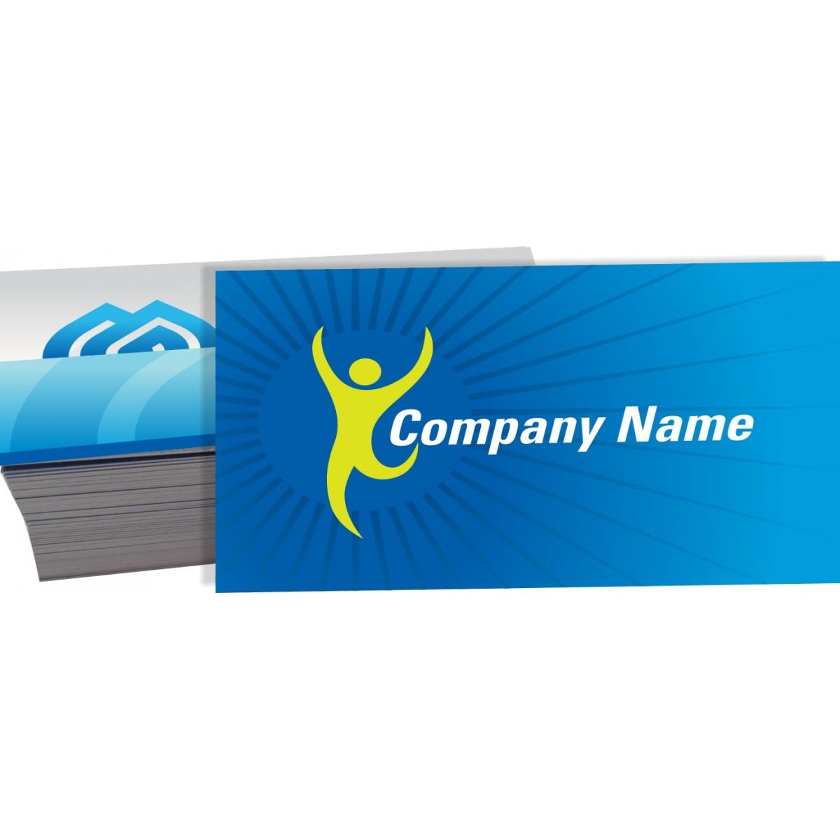 Cartão de Visita 4x4 cor - Verniz UV Total Frente e Verso - 1.000 peças  - Fac Signs