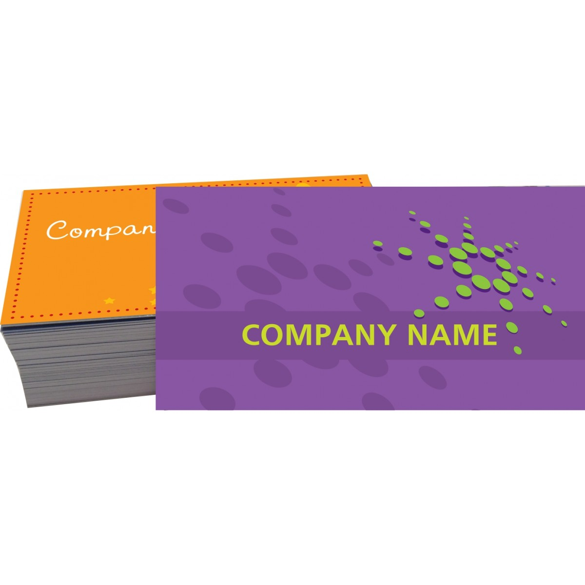 Cartão de Visita 4x4 cor - Laminação e Verniz Local - 1.000 peças  - Fac Signs