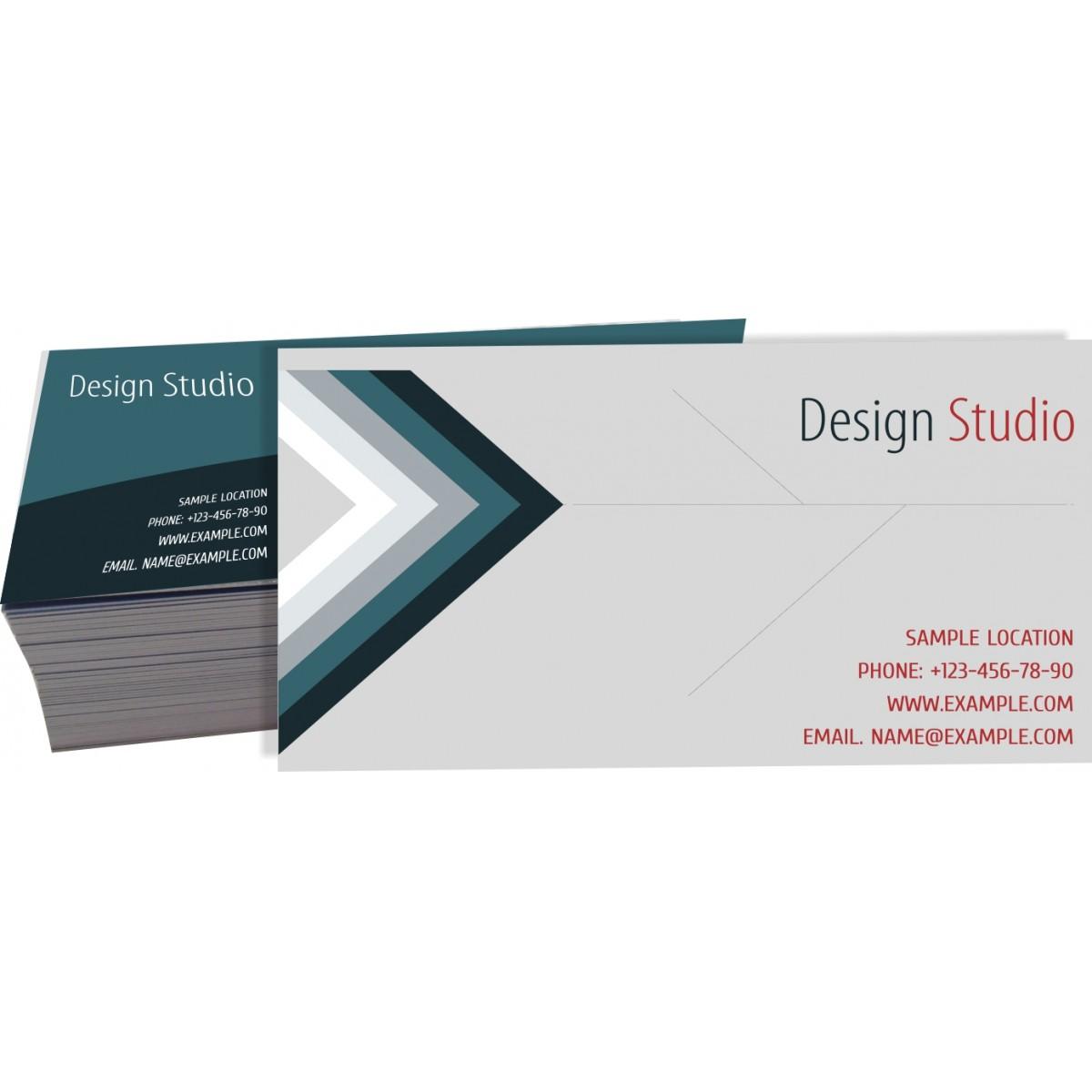 Cartão de Visita Reciclato 4x4 cor - 250 peças  - Fac Signs