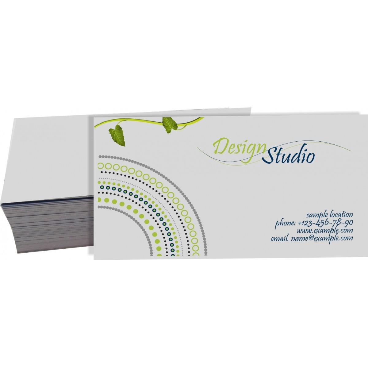 Cartão de Visita Reciclato 4x0 cor - 250 peças  - Fac Signs