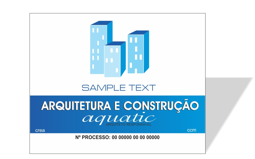 3024 - Placa em PVC 100x80cm - Qualquer tema!  - Fac Signs