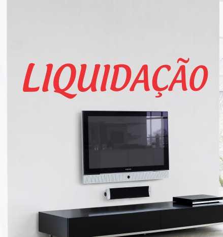 Adesivo Liquidação - plotter  - FAC Signs Impressão Digital