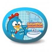 Suporte para escova infantil - GALINHA PINTADINHA