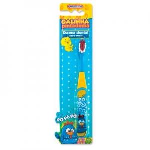 Escova dental Infantil Galinha Pintadinha