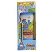 Porta Escova Kit Dental 3x1 Fun Galinha Pintadinha