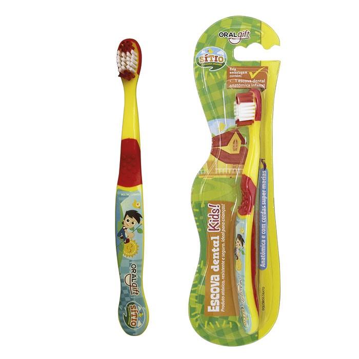 Escova de Dente Infantil Sítio do Picapau Amarelo  - OralGift