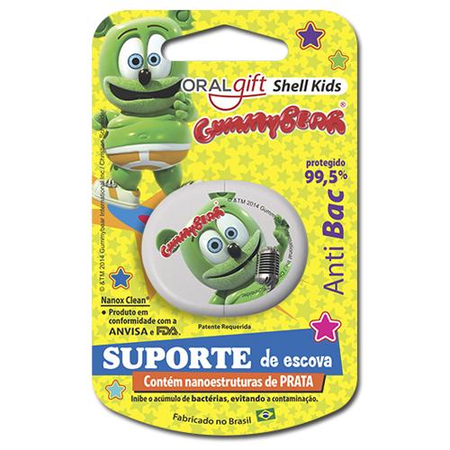 Suporte para escova infantil - GUMMY BEAR  - OralGift