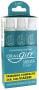 Caixinha contendo o Creme Dental OralGift com 3 unidades de 30g cada.