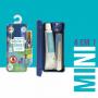 SmileBox OralGift Pra Viajar Mini com estojo, fio, escova e creme dental