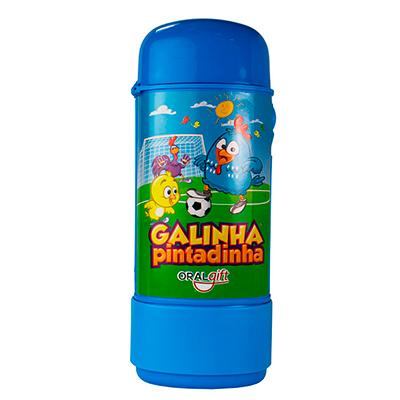 Porta Escova Dental Kids FUN GALINHA PINTADINHA  - OralGift