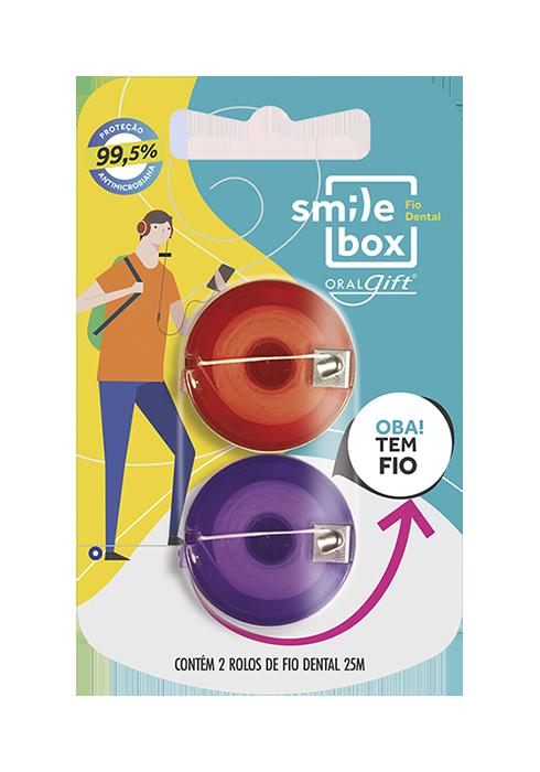 Fio Dental OralGift 2X25m  - OralGift