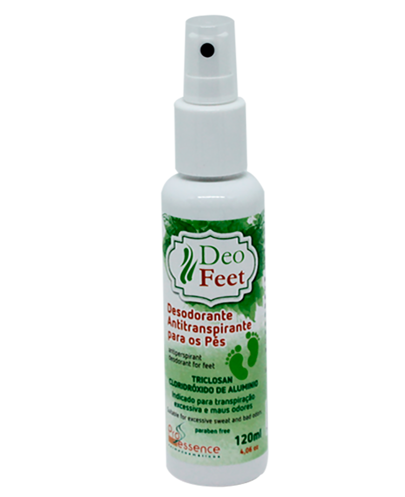 DEO FEET 120ML  - PRÓ ESSENCE DERMOCOSMÉTICOS
