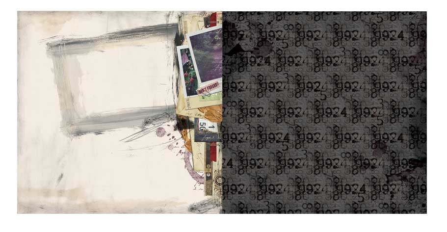 Papel Beautiful Dreamer / Reverie - Bo Bunny  - JuJu Scrapbook
