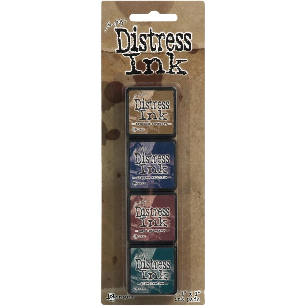 Carimbeira Mini Distress Ink Tim Holtz - Pad Kit 40422  - JuJu Scrapbook