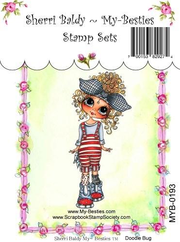 Carimbo - Doodle Bug - My Besties  - JuJu Scrapbook