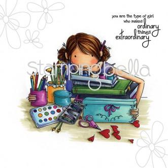 Carimbo - Callista Loves to Craft - Stamping Bella  - JuJu Scrapbook