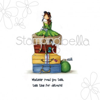 Carimbo - Molly Makes a Detour - Stamping Bella  - JuJu Scrapbook