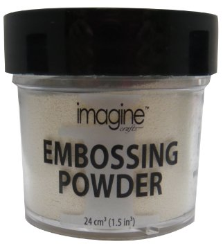 Pó para Emboss Embossing Power - Cor White - Imagine Crafts  - JuJu Scrapbook