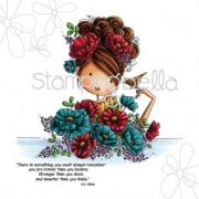 Carimbo - Fiona Loves Flowers - Stamping Bella