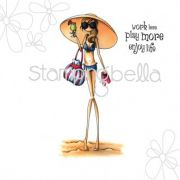 Carimbo - Sandy and Her Sombrero - Stamping Bella
