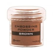 Pó para Emboss Embossing Power - Cor Brown - Ranger