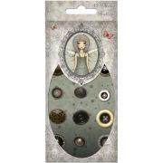 Metal Buttons - Mirabelle