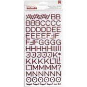 Alfabeto Autocolante - American Crafts