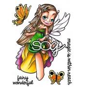 Carimbo Some Odd Girl - Modelo Flutter By Fairy