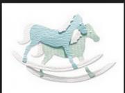 Enfeite Rock Horse / Joulee's Boutique