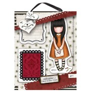 Urban Stamp (4pcs) - Gorjuss - I Gave You My Heart