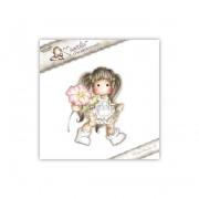 Carimbo Magnolia - Modelo Tilda Special Poppy