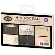 ATC PAD 6x4 (45pcs) - Something Blue  - Prima Marketing