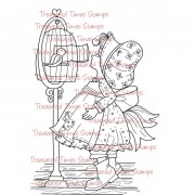 Carimbo Treasured Times - Bird Keeper
