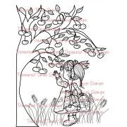 Carimbo Treasured Times - Cherry Picking