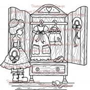 Carimbo Treasured Times - The Dress