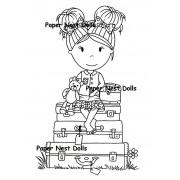 Carimbo Paper Nest Dolls - Modelo Bon Voyage Emma