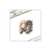 Carimbo Magnolia - Modelo Tilda with Angel the Horse