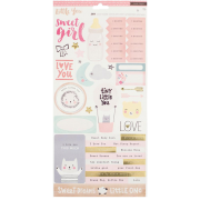 Adesivo Baby Girl - Coleção Little You - Crate Paper