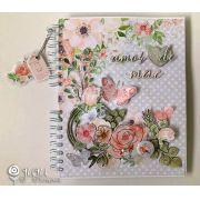 """Álbum """"Amor de Mãe"""" - JuJu Scrapbook"""