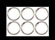 Argolas Articuladas em Metal 3,5 cm - Prata | JuJu Scrapbook