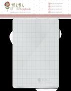 Base acrílica para carimbo - 10 cm x 15 cm