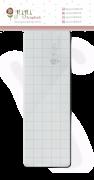 Base acrílica para carimbo - 15 cm x 5 cm